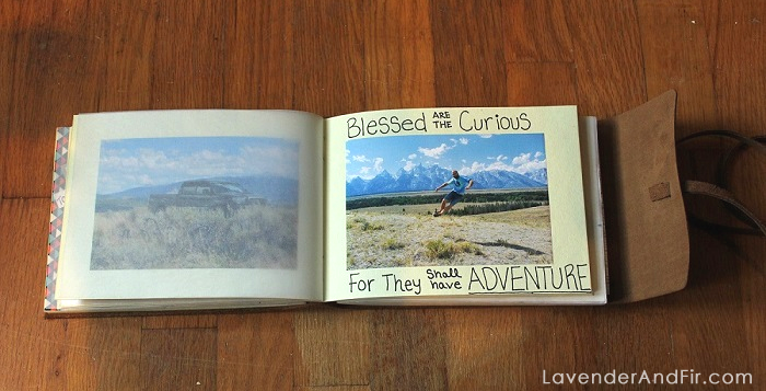 Yellowstone Scrapbook