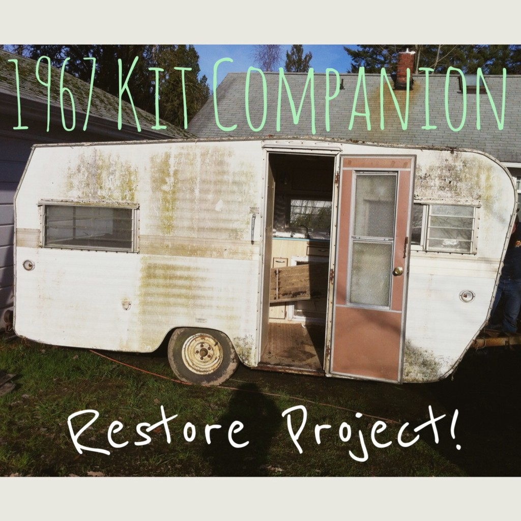 1967 Kit Companion Travel Trailer